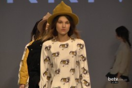 Nadia YURKIV. Показ коллекции AW2016-2017 на 38 Ukrainian Fashion Week. New Names