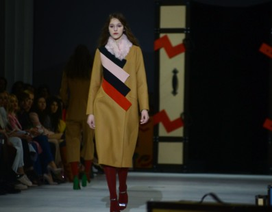 The COAT by Katya SILCHENKO. Показ коллекции AW2016-2017 на 38 Ukrainian Fashion Week