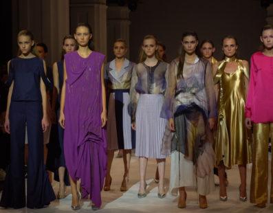 DIPHYLLEIA. Показ коллекции SS2017 на 39 Ukrainian Fashion Week