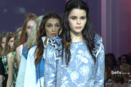 SEREBROVA. Показ коллекции SS2017 на 39 Ukrainian Fashion Week