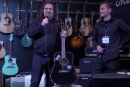 Сергій Кузін та AT Trade презентують нову гітрару Fender