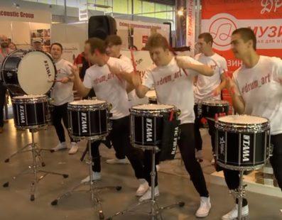 Drum Art. Барабанне шоу. Український музичний ярмарок