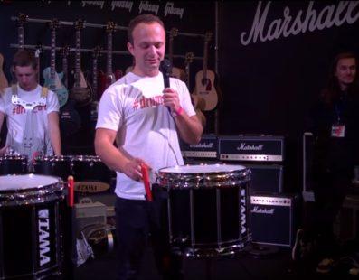 Презентація барабанів TAMA. Микола Томасишин (Школа Drum Art). A&T Trade