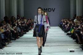 DMDV. Показ коллекции AW 2017-18 на 40 Ukrainian Fashion Week