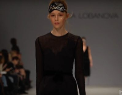 Larisa LOBANOVA. Показ коллекции AW 2017-18 на 40 Ukrainian Fashion Week