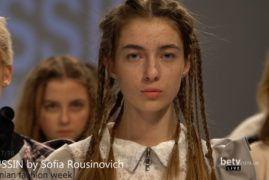 ROUSSIN by Sofia Rousinovich. Показ коллекции AW 2017-18 на 40 Ukrainian Fashion Week. Fresh Fashion