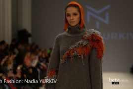 Nadia YURKIV. Показ коллекции AW 2017-18 на 40 Ukrainian Fashion Week. Fresh Fashion