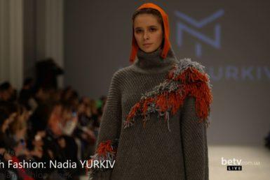 Nadia YURKIV. Показ коллекции AW 2017-18 на 40 Ukrainian Fashion Week. Fresh Fashion