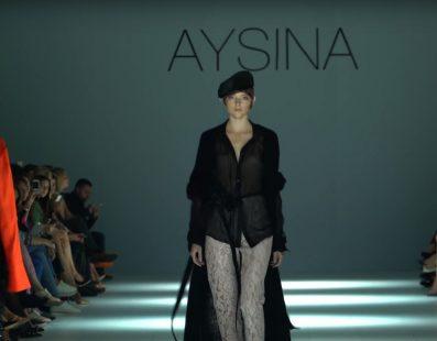 AYSINA. Показ коллекции SS18 на 41 Ukrainian Fashion Week
