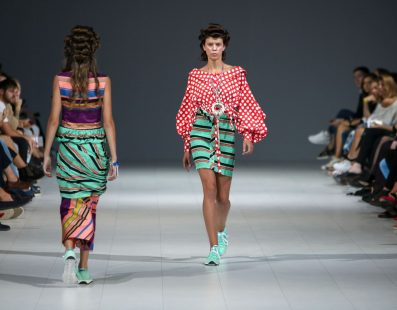Yana CHERVINSKA. Показ коллекции SS18 на 41 Ukrainian Fashion Week