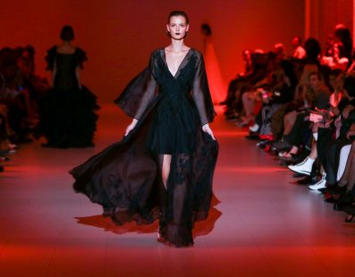 Olena DATS'. Показ коллекции SS18 на 41 Ukrainian Fashion Week