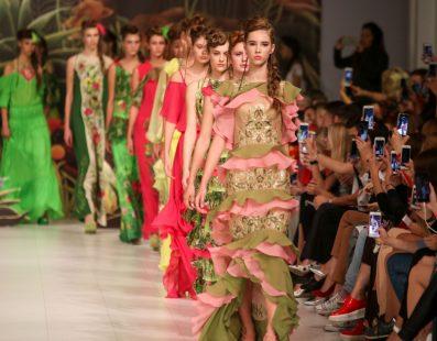 Iryna DIL'. Показ коллекции SS18 на 41 Ukrainian Fashion Week