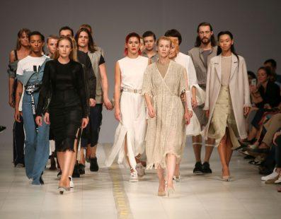 DOMANOF. Показ коллекции SS18 на 41 Ukrainian Fashion Week