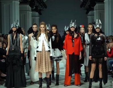 Liya Hmara. Показ коллекции SS18 на 41 Ukrainian Fashion Week