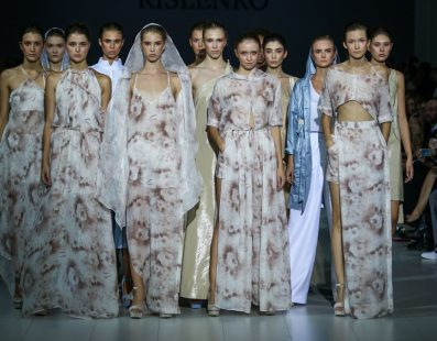 Ludmila KISLENKO. Показ коллекции SS18 на 41 Ukrainian Fashion Week