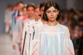 POUSTOVIT. Показ коллекции SS18 на 41 Ukrainian Fashion Week