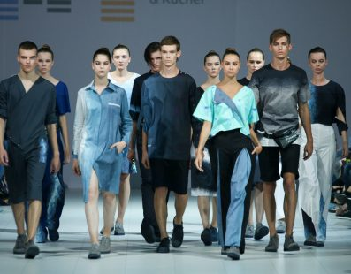 ULTRASOUND by Zherebetska&Kucher. New Names на 41 Ukrainian Fashion Week