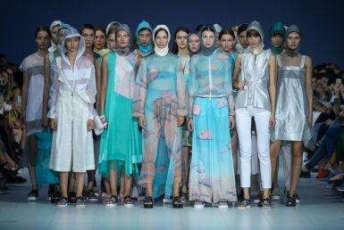 VOROZHBYT&ZEMSKOVA. Показ коллекции SS18 на 41 Ukrainian Fashion Week