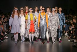 Nadia YURKIV. Показ коллекции SS18 на 41 Ukrainian Fashion Week