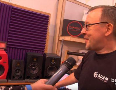 PRO DJ. Новинки на ярмарку — монітори Adam. Український музичний ярмарок 2017