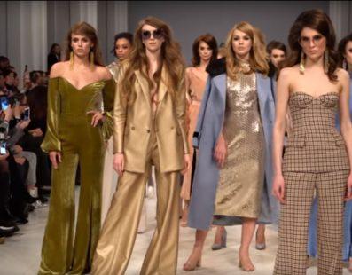 Elena BURBA. Показ коллекции FW18-19 на 42 Ukrainian Fashion Week