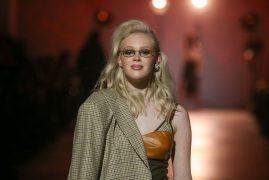 the COAT by Katya Silchenko. Показ коллекции FW18-19 на 42 Ukrainian Fashion Week