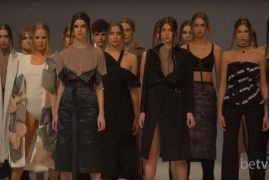 DOMANOF. Показ коллекции FW18-19 на 42 Ukrainian Fashion Week