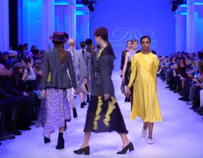 Darja DONEZZ. Показ коллекции FW18-19 на 42 Ukrainian Fashion Week