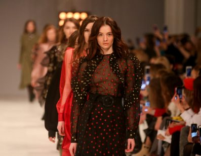 Nadya DZYAK. Показ коллекции FW18-19 на 42 Ukrainian Fashion Week