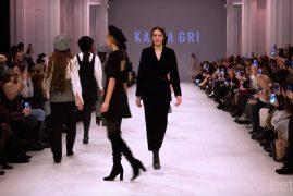 Katea GRI. Показ коллекции FW18-19 на 42 Ukrainian Fashion Week