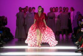 Larisa LOBANOVA. Показ коллекции FW18-19 на 42 Ukrainian Fashion Week